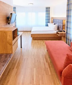 Zimmer im Hotel Pötter in Emsdetten.