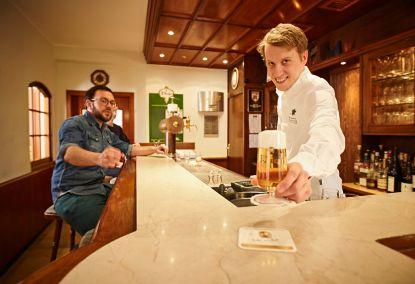 Gemütliche Pilsstube im familiengeführten Hotel und Restaurant Pötter in Emsdetten.