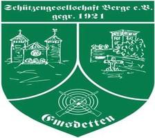Schützengesellschaft Berge e. V. gegr. 1822.